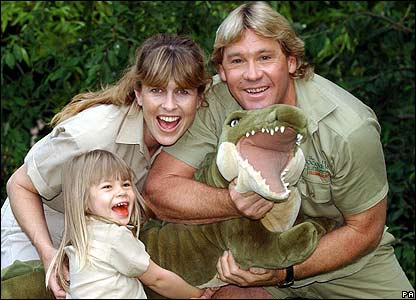 Steve Irwin - Crocodile Hunter & Family Man