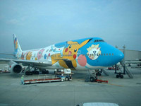 Nippon Airways Pikachu Airplane