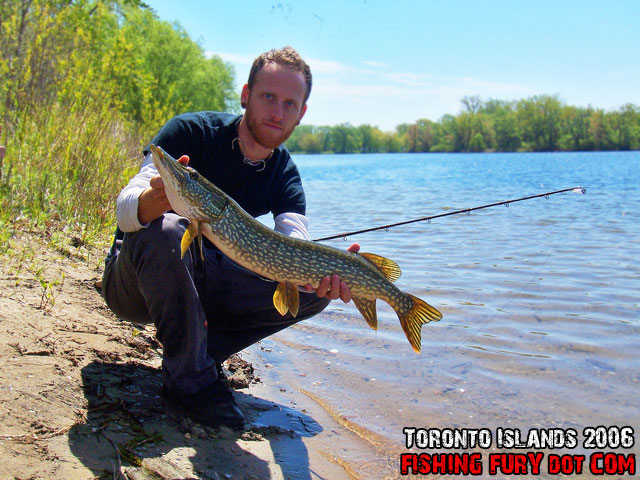 Fishing for Northern Pike on Toronto Islands