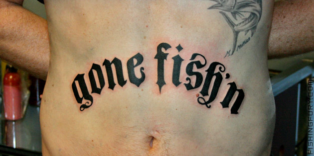 Gone Fish'n Tattoo