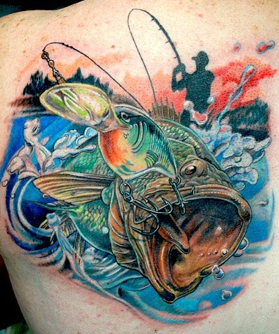 Another Great Bass Tattoo | Fishing Fury - A fishing blog with 