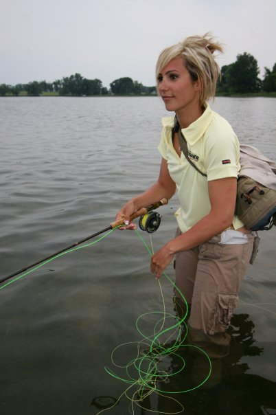fly fishing girls Sexy
