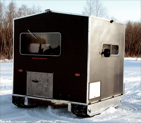 widebody ice fishing hut
