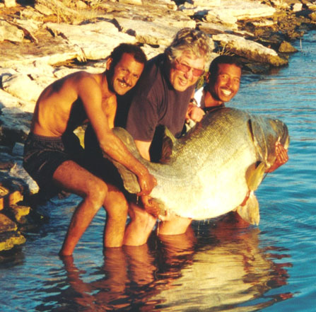 230lb nile perch