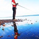 Clive Shore Fishing Lake Superior