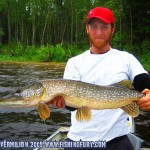 Clive with a Northern Pike