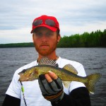 Clive with a nice walleye