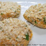 Fish Cakes Coated in Bread Crumbs