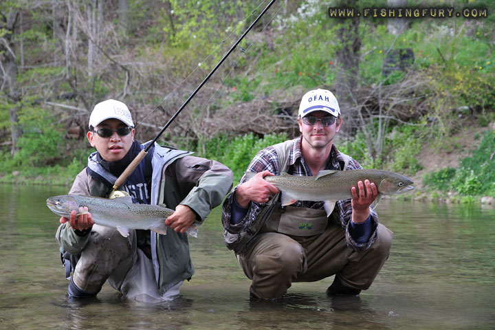 Steelhead Trout Double Header