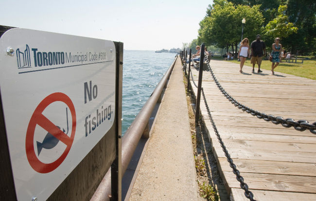 No fishing - TorontoSun