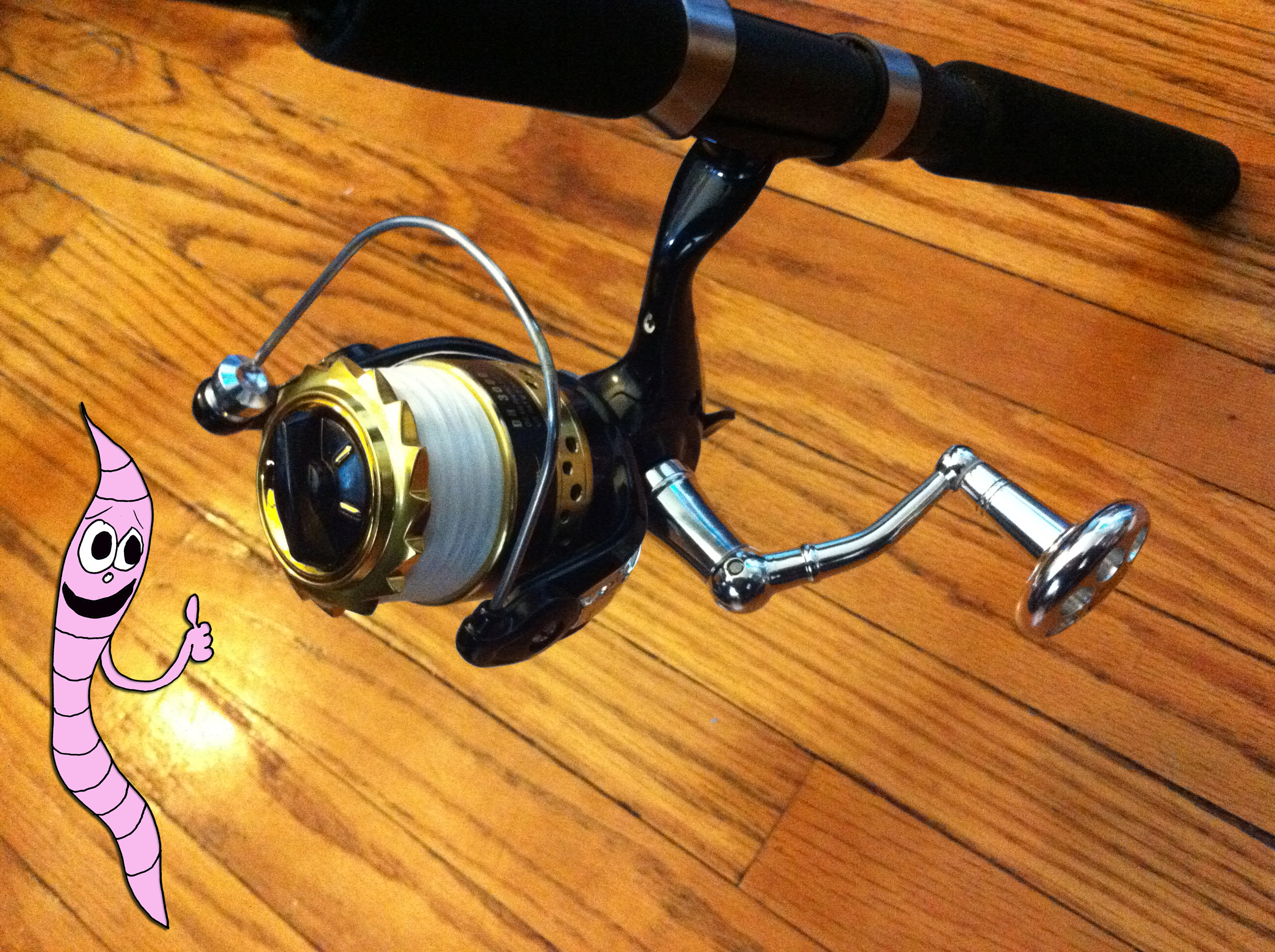 WaveSpin Spinning Reel Review | Justine