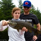 "21"" Smallmouth Bass"