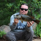 Smallmouth on Bird Lure