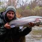 Rade with a Big Steelhead