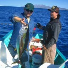 Phil with his first yellowfin tuna