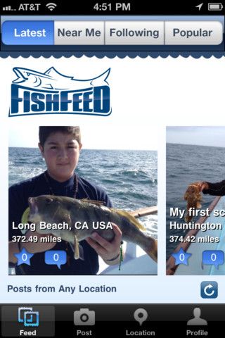 FishFeed for iPhone
